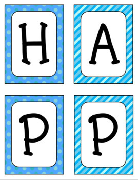 Happy Holidays Banner (Ink-Saver Version)