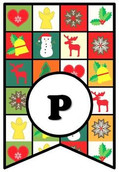 Happy Holidays! Christmas, Holidays, Bulletin Board Sayings Pennant Banner