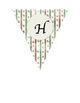 Happy Holidays Christmas Pennant Banner