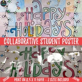 Christmas Holiday Activity Happy Holidays Collaborative Po