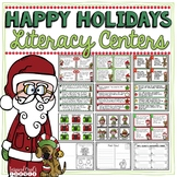 Literacy Centers - Holiday Theme