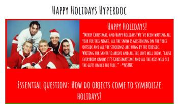 Happy Holidays Hyperdoc