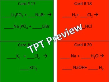 Happy Holidays Merry Christmas Balancing Equations Chemistry