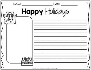 Happy Holidays Scrambled Sentences