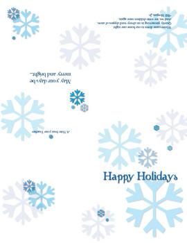 Happy Holidays - Thank You - Birthday - Congrats - From Teacher