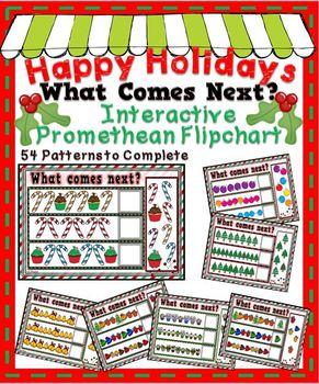 Happy Holidays What Comes Next? ~ Promethean Flipchart