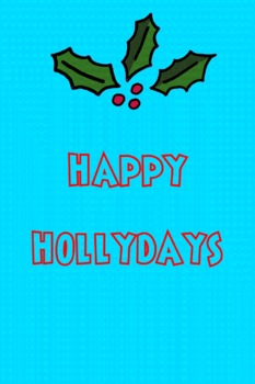 Happy Hollydays