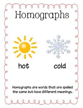 Happy Homographs