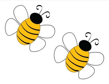 Classroom Decor Happy Honeybee Cut Outs