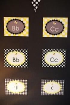 Classroom Decor Happy Honeybee Word Wall Labels