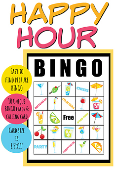 Happy Hour BINGO Game