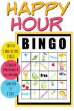 Happy Hour BINGO Game