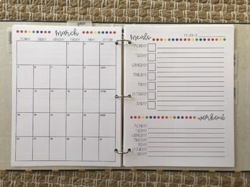 Happy Household Binder for teachers' at-home organization
