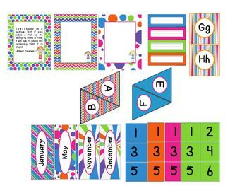 Happy Hues: A Brightly Colored Classroom Theme