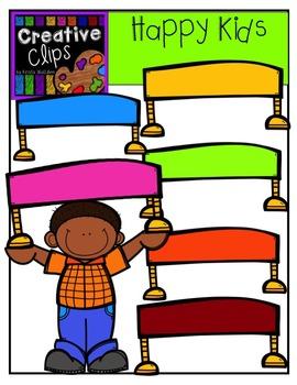Happy KIDS {Creative Clips Digital Clipart}