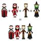 Happy Kids 4 - Halloween - Clip Art Set - PNG files