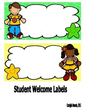 Happy Kids Incentive Charts and Labels to Support Classroom Management
