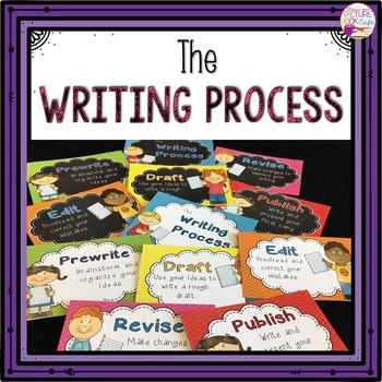 Writing Process Posters (Happy Kids)