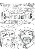 Happy Little Accident coloring sheet
