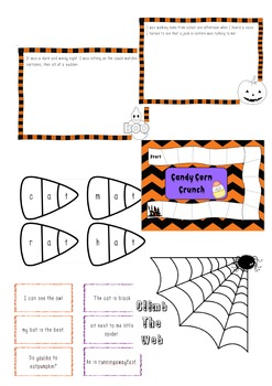 Happy Little Spooks Literacy Pack