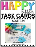 Happy Little Task Cards Addition Sums 1-20