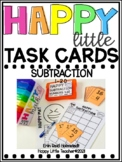 Happy Little Task Cards Subtraction Numbers 1-20