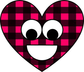 happy lumberjack heart clip art by reading with mrs d tpt rh teacherspayteachers com lumberjack beard clipart lumberjack axe clipart