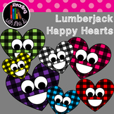 Happy Lumberjack Heart Clip Art