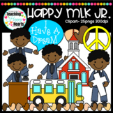 Happy MLK Jr. Clipart