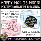 Happy Mail - Positive Letters Home to Parents