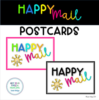 Happy Mail Postcards