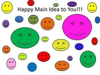 Happy Main Idea to You!!!