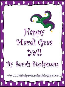 Happy Mardi Gras Ya'll