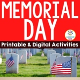 Memorial Day Activities | Printable & Digital | Distance Learning