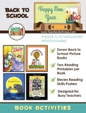Happy Mooo Year! Back to School Literature- Reading Printables for Busy Teachers