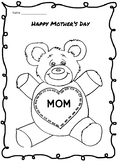 Happy Mother's Day Coloring Activity