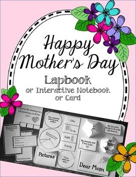 Happy Mother's Day Lapbook & Interactive Notebook
