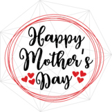Happy Mother's Day SVG Crafters Mama Quotes Files Drama Sv