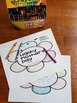 K, 1, 2, 3, 4, 5, 6 Happy Mother's Day (flower shaped booklet - write or draw)
