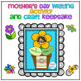 Mother's Day a Fun Writing Activity Craft for Mom, Aunt, G