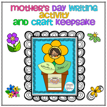 Mother's Day a Fun Writing Activity Craft for Mom, Aunt, Grandmom for 1-2