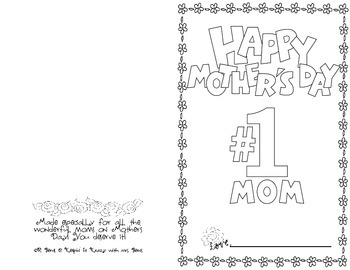 Happy Mother's Day! A Book About Mom!