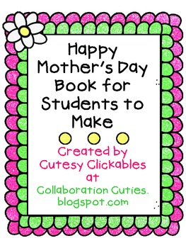 Happy Mother's Day Book {FREEBIE}