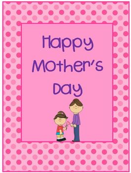 Happy Mother's Day Book and Notepad