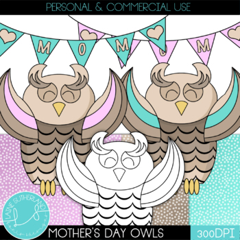 Happy Mother's Day Love the Owls