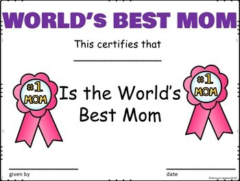 Happy Mother's Day activity gift book