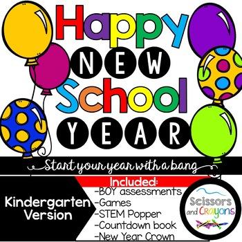 Happy New School Year Kindergarten