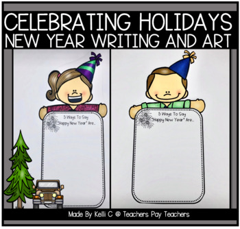 Happy New Year in Different Languages- A Writing Activity
