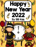 Happy New Year 2019 Unit  {Count Down Book, Graphs, Patterns, Writing}