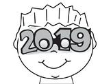 Happy New Year 2019 Craftivity
